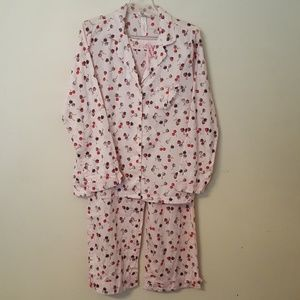 Victoria's Secret Womens 2 pc Pajamas M